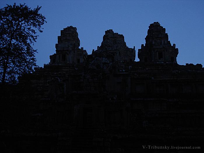 Камбоджа. Та Кео: беседа с храмом
