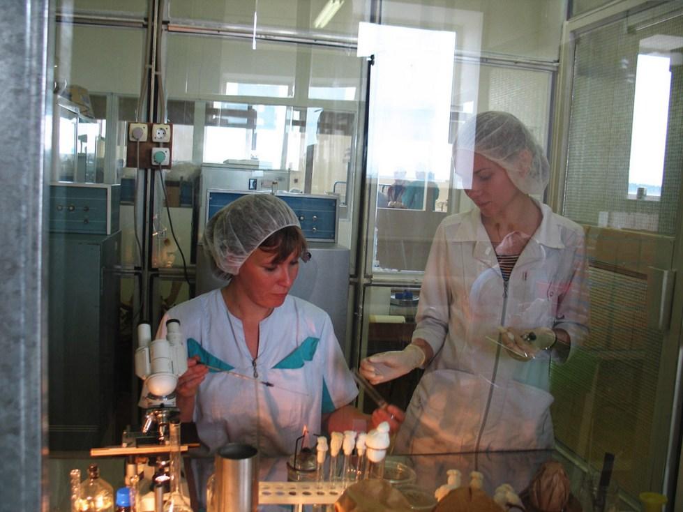 Проекты микробиологических и химических лабораторий