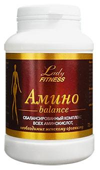 Аминокислоты Amino Balance 3000 LadyFitness 72 капсулы