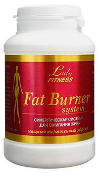 Жиросжигающая система Fat Burner System LadyFitness 72 капсулы