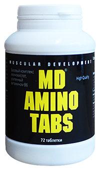 Аминокислоты MD Amino Tabs 72 таблетки