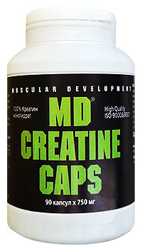 MD Creatine Caps 90 капсул