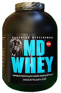 Протеин MD WHEY 2,27 кг