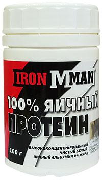 100% Яичный Протеин IRONMAN 0,1 кг
