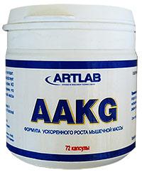 Аминокислота AAСG ARTLAB - 100% L-аргинин, 72 капсулы