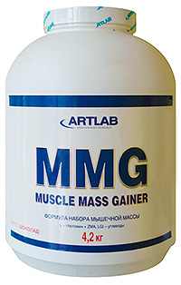 Гейнер  Muscle Mass Gainer Artlab 4,2 кг