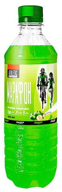 Спортивный напиток Лидер Марафон ATHLETIC NUTRITION с газом 500 мл