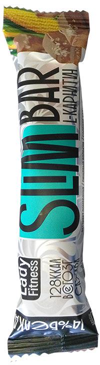 Протеиновый батончик с L-карнитином Slim Bar LadyFitness 35 грамм