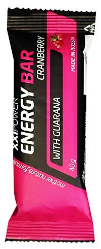 Протеиновый батончик с гуараной Energy Bar XXI Power 40 грамм