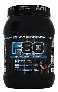 Протеин F80 IRONMAN 1 кг