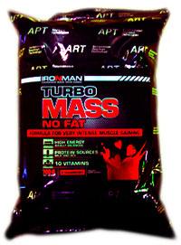 Гейнер Турбо Масс без жира IRONMAN 0,7 кг