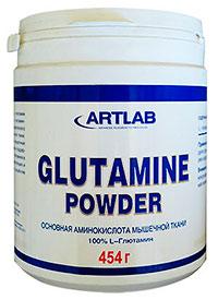 Аминокислота Glutamine Powder ARTLAB 0,454 кг