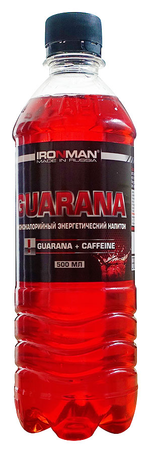 Спортивный напиток Гуарана IRONMAN негазированный 500 мл