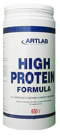 Протеин High Protein Formula Artlab 650 грамм