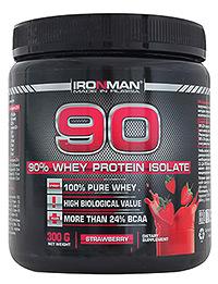 90% Сывороточный Изолят IRONMAN 0,3 кг
