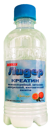 Спортивный напиток Лидер Креатин IRONMAN 250 мл