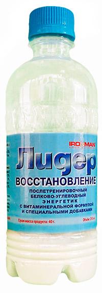 Спортивный напиток Лидер Восстановление IRONMAN 250 мл