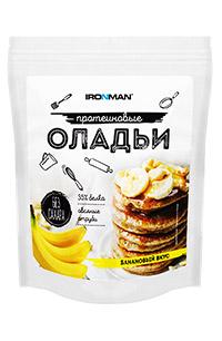 Протеиновые оладьи IRONMAN без сахара 300 грамм