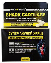 Средство для суставов Супер Акулий Хрящ IRONMAN 14 капсул