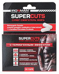 Супер сжигатель жира Super Cuts IRONMAN 30 капсул