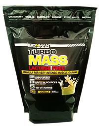 Гейнер Турбо Масс без лактозы IRONMAN 0,7 кг