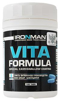 Витамины Вита формула IRONMAN 100 таблеток