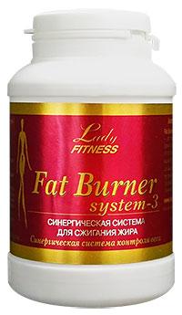 Жиросжигатель Fat Burner System-3 LadyFitness 72 капсулы