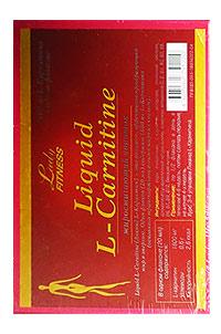 Жиросжигатель Liquid L-Carnitine LadyFitness 7 флаконов по 25 мл