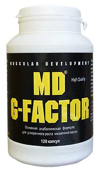Стимулятор гормона роста MD G-Factor 120 капсул