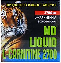 Жиросжигатель Liquid L-Carnitine 2700 MD 10 флаконов по 25 мл