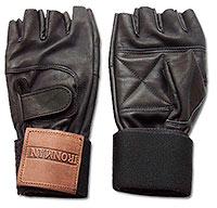 Перчатки мужские IRONMAN с напульсниками КП03