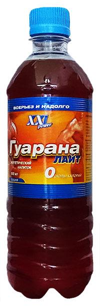 Спортивный напиток Гуарана Лайт XXI Power без газа - Клюква, 500 мл