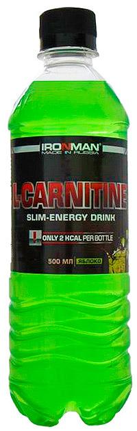 Спортивный напиток L-карнитин IRONMAN негазированный 500 мл