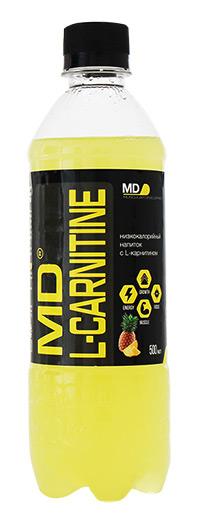 Спортивный напиток L-карнитин MD - Ананас-Грейпфрут, 500 мл