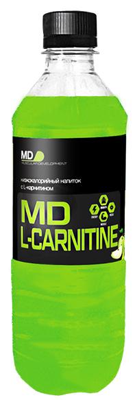 Спортивный напиток L-карнитин MD - Яблоко, 500 мл