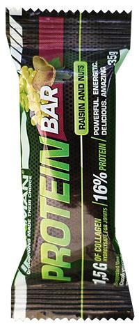 Протеиновый батончик с коллагеном Protein Bar IRONMAN 35 грамм