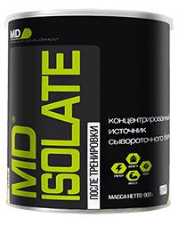 Сывороточный протеин MD ISOLATE 0,9 кг