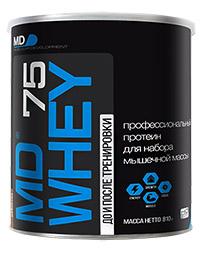 Сывороточный протеин MD WHEY-75  810 грамм