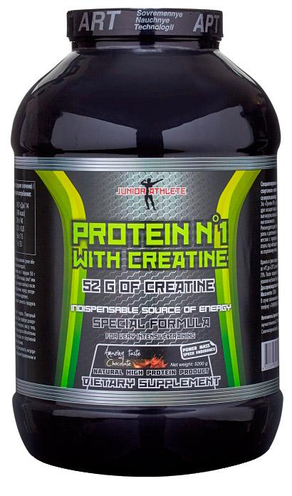 Протеин №1 с креатином Junior 3,2 кг