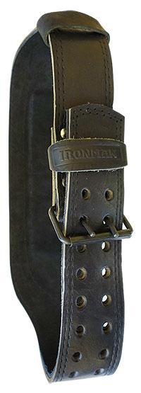 Ремень кожаный двухслойный IRONMAN K10