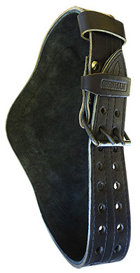 Ремень кожаный IRONMAN с дополнительной поддержкой спины