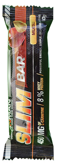 Протеиновый батончик с L-карнитином Slim Bar IRONMAN 50 грамм