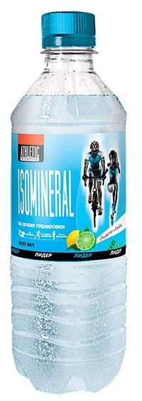 Спортивный напиток Лидер Изоминерал Athletic Nutrition с газом 500 мл