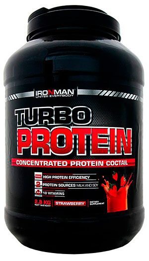 Turbo Protein IRONMAN 2,8 кг