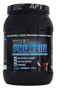 62% сывороточный протеин IRONMAN 1 кг