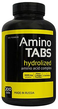 Аминокислоты Амино Tabs XXI Power 200 таблеток