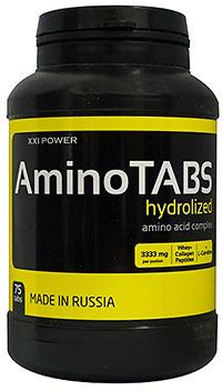Аминокислоты Амино Tabs XXI Power 75 таблеток