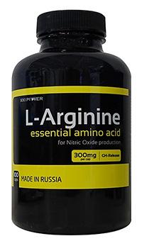 Аминокислота L-Аргинин XXI Power 100 капсул