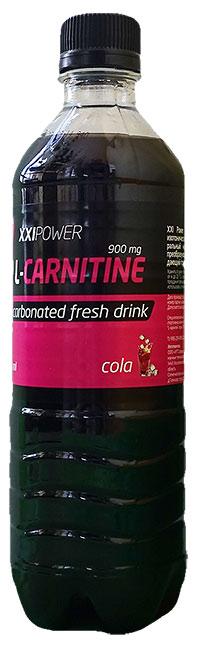 Спортивный напиток L-карнитин XXI Power газированный - Кола, 500 мл