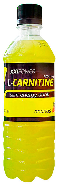 Спортивный напиток L-карнитин XXI Power без газа - Ананас 500 мл